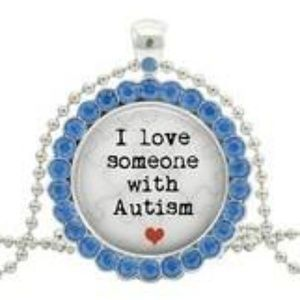 "New! ""I Love Someone With Autism"" Necklace"